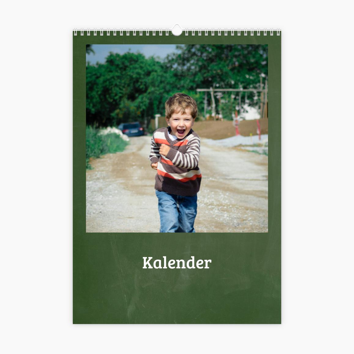 Fotokalender - Schultafel
