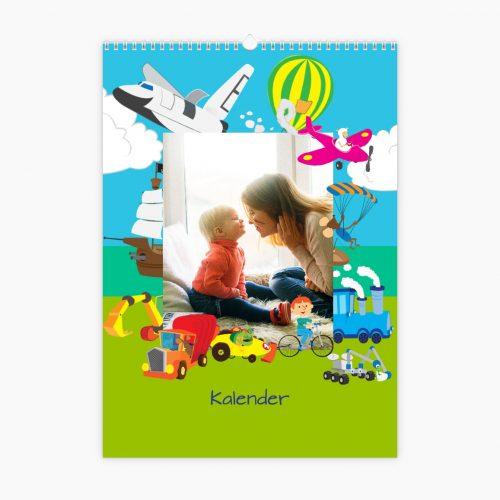 Fotokalender - bunte Reise