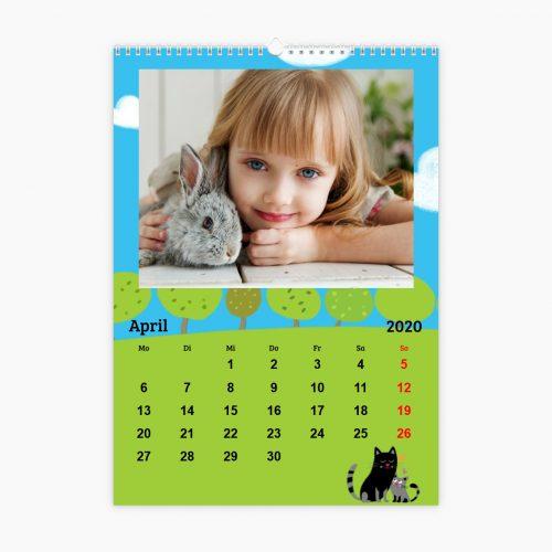 Fotokalender - auf der Wiese