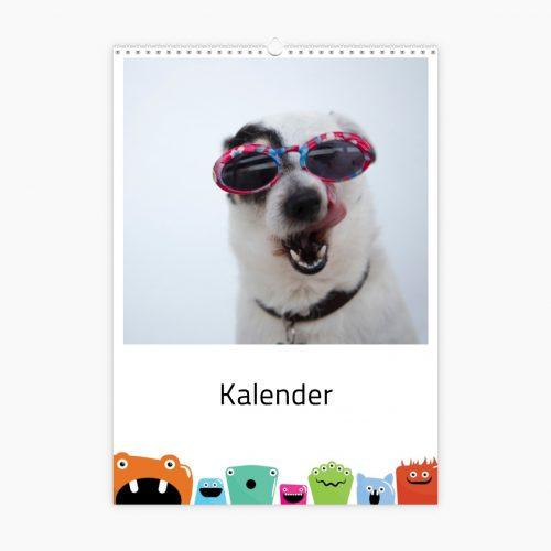 Fotokalender - bunte Monster