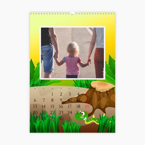 Fotokalender - kleine Monster