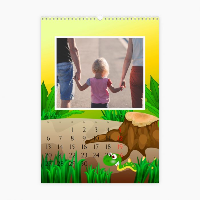 Fotokalender - kleine Monster