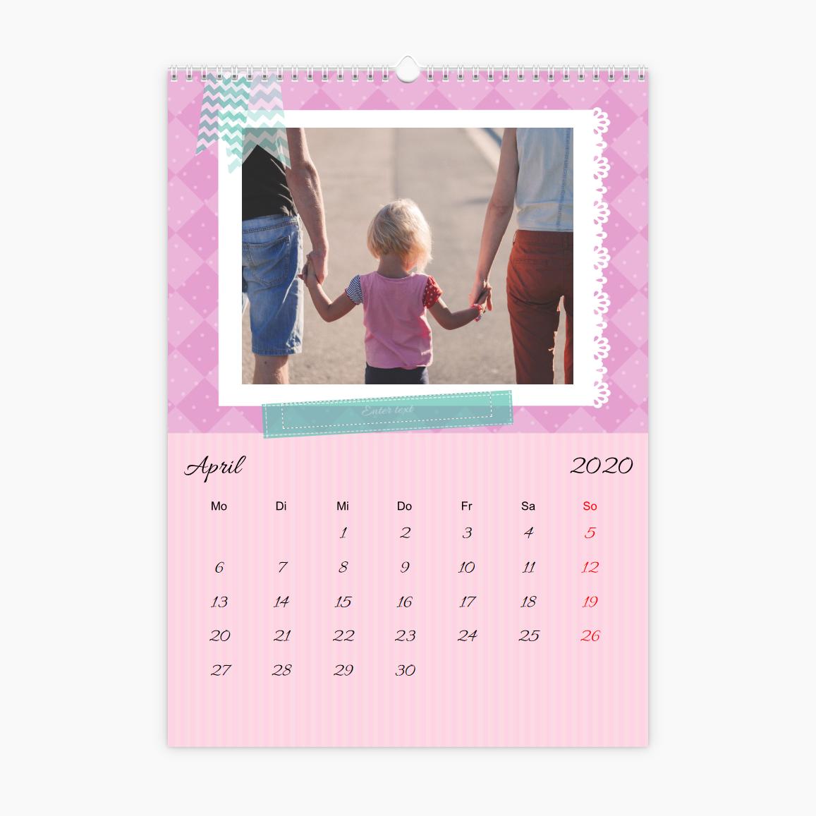 Fotokalender - kleine Prinzessin