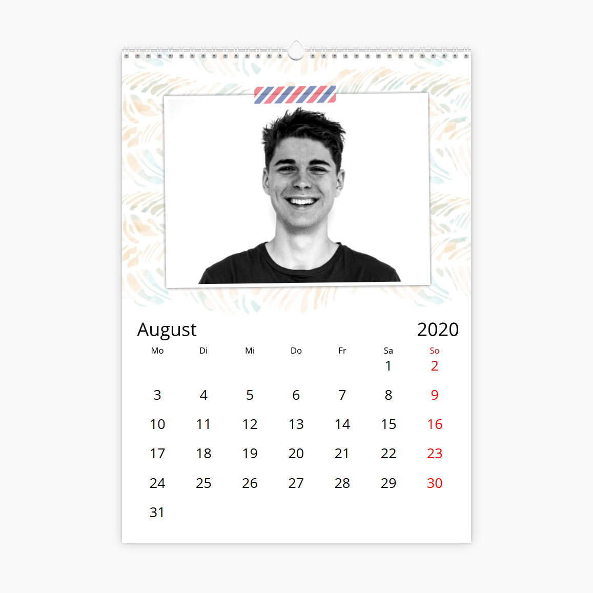 Fotokalender - Brief