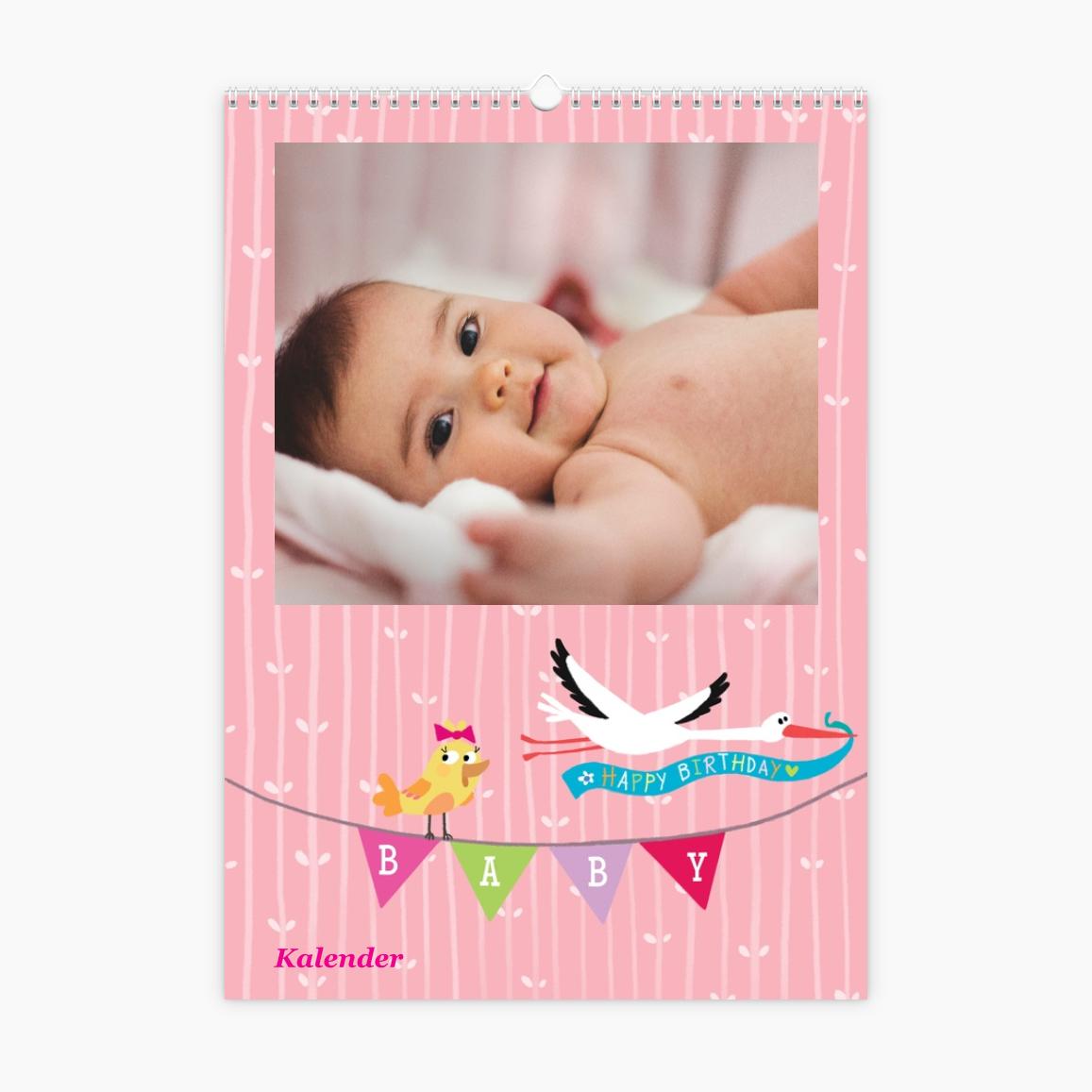 Fotokalender - Kinder und Zucker pink