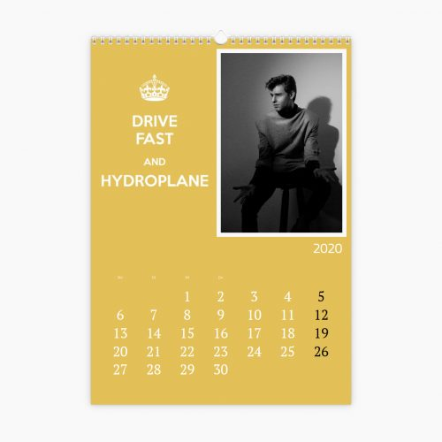 Fotokalender - Keep Calm für Männer