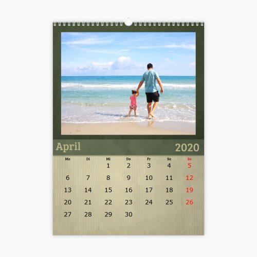 Fotokalender - grün