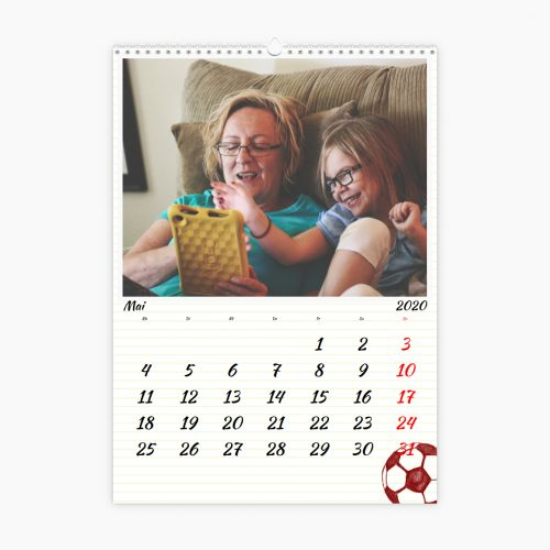 Fotokalender - Übungsheft