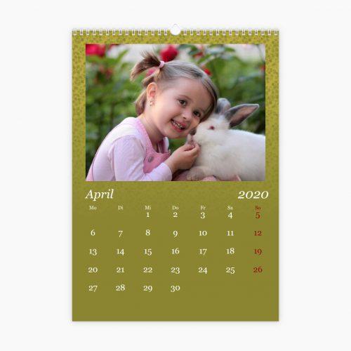 Fotokalender - zarte Blumen