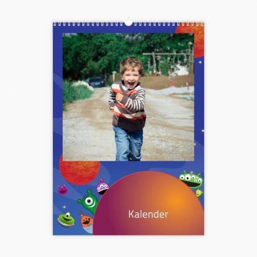 Fotokalender - kleines Monster
