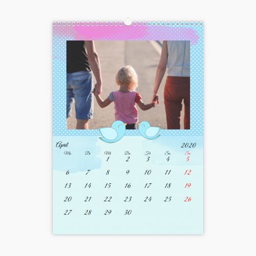 Fotokalender - bunte Träume