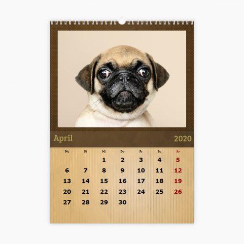 Fotokalender - braun