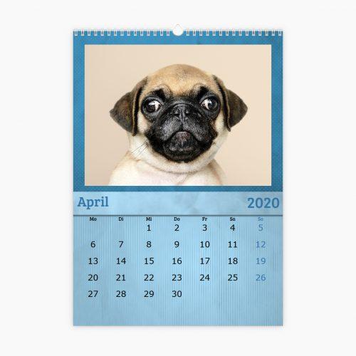 Fotokalender - blau