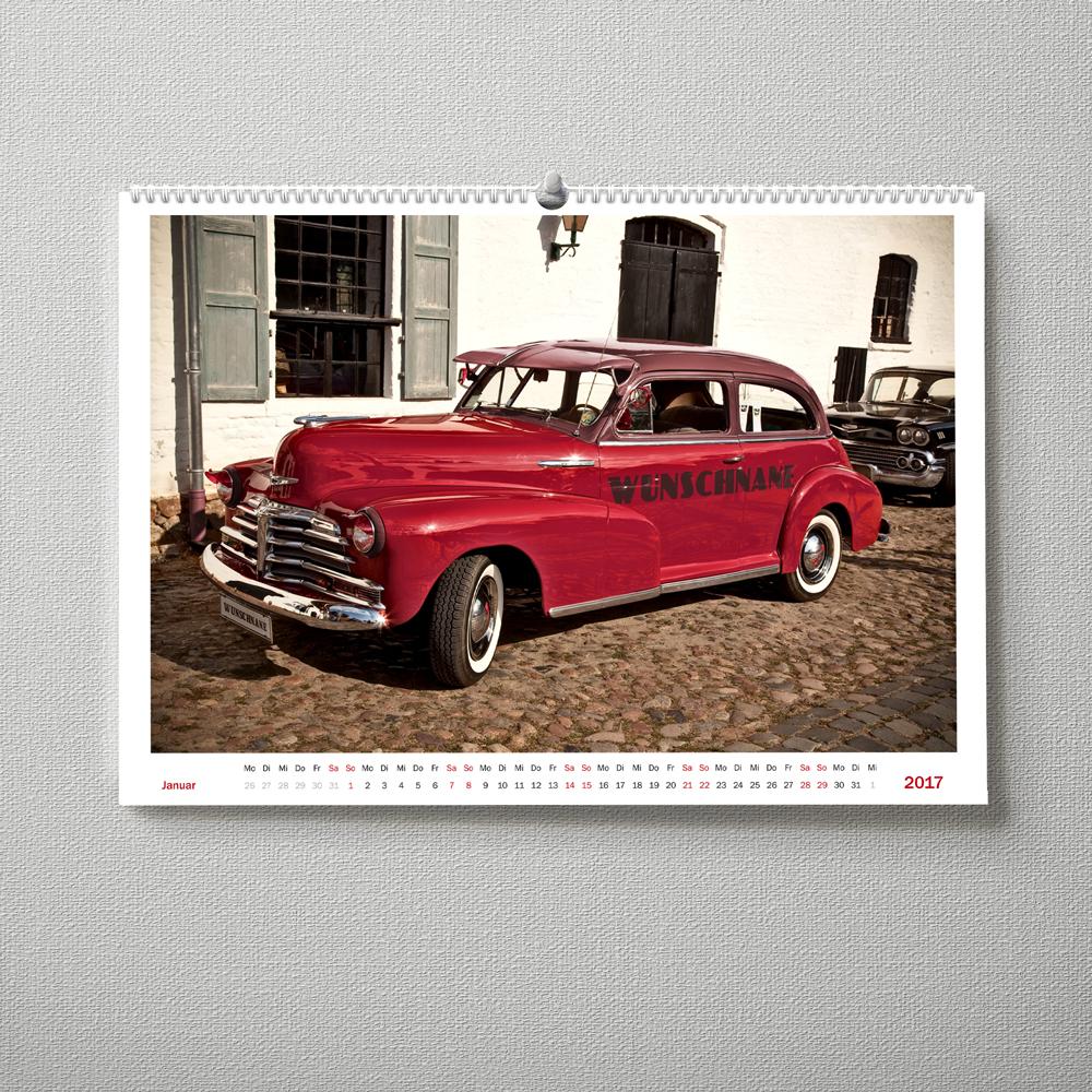 Wandkalender Auto
