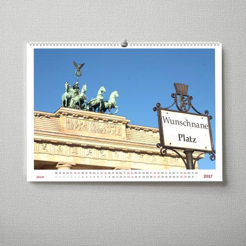 Wandkalender Berlin