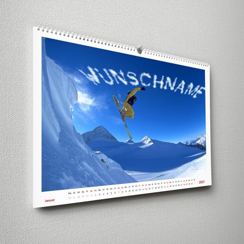 Wandkalender für Herren