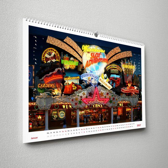 Wandkalender Stadt