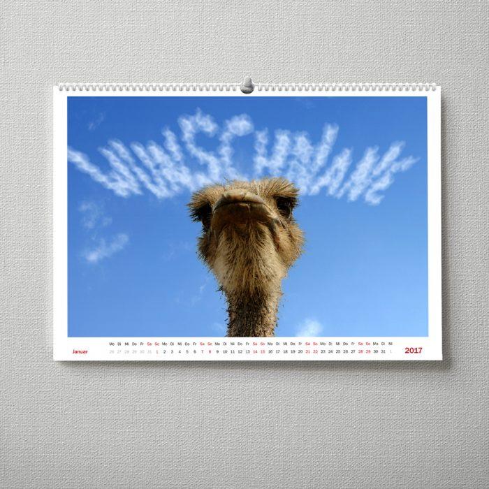 Wandkalender Tiere