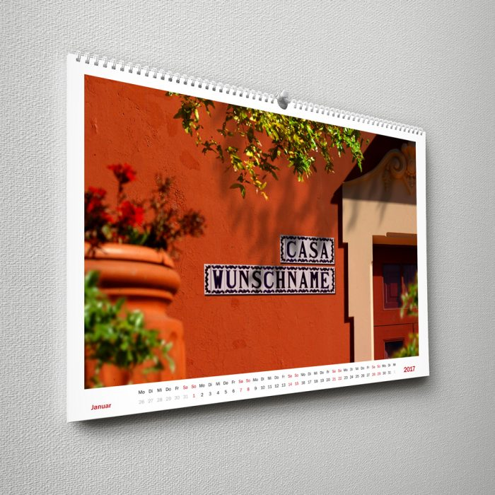 Wandkalender Urlaub