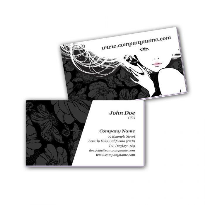 Visitenkarten mit Farbkern - Beauty