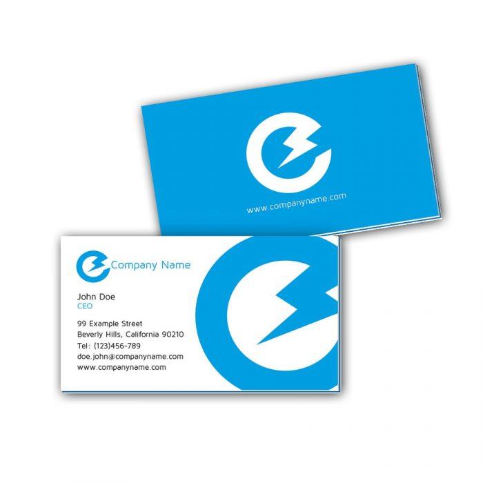 Visitenkarten mit Farbkern - Elektriker