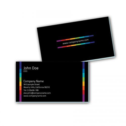 Visitenkarten mit Farbkern - Farben