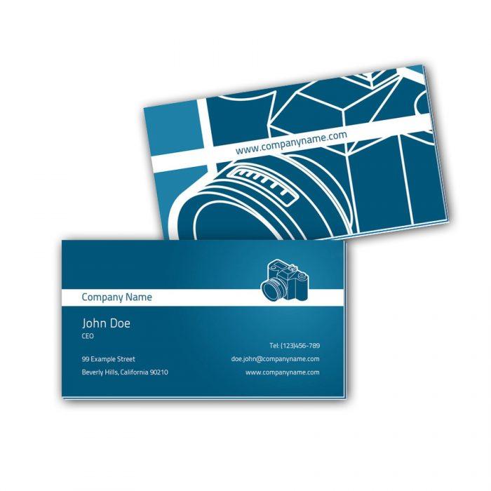 Visitenkarten mit Farbkern - Fotograf 2