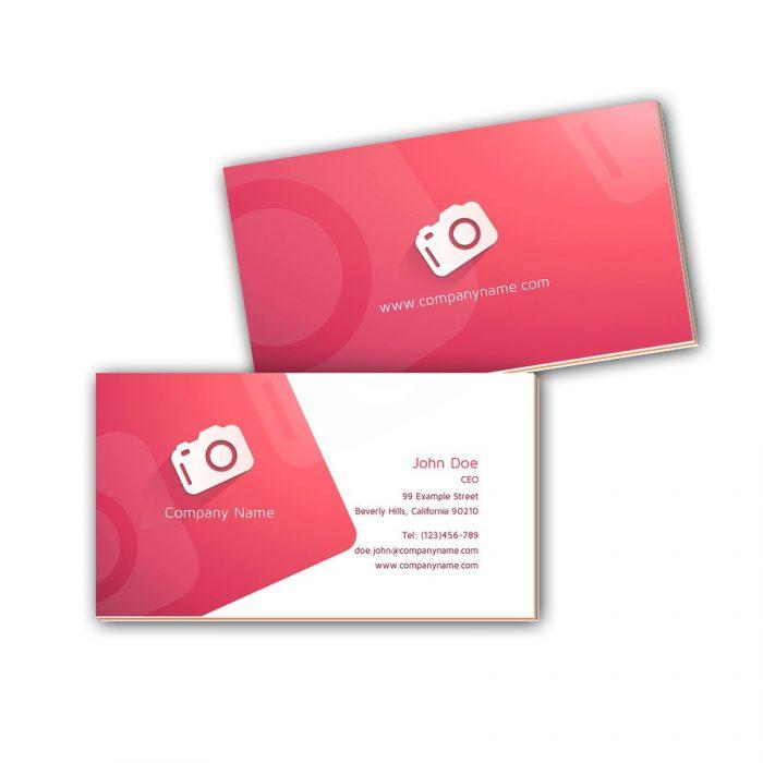 Visitenkarten mit Farbkern - Fotograf 3