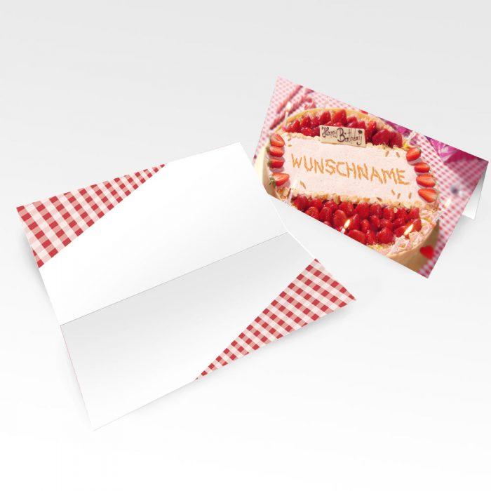 Geburtstagskarten mit Namen 10er Pack – Motiv 9