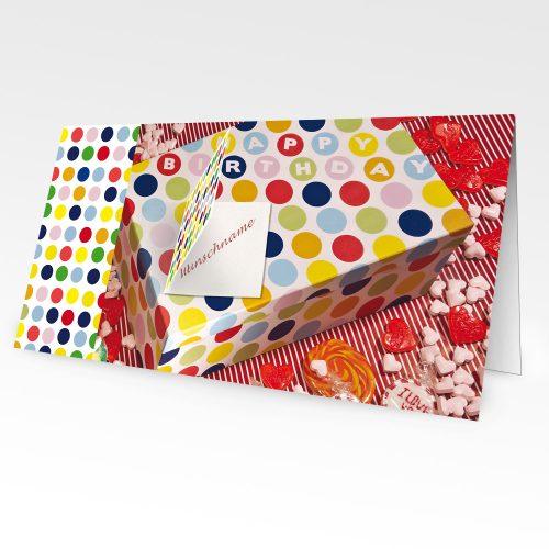 Geburtstagskarten mit Namen 10er Pack – Motiv 10