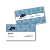 Visitenkarten mit Farbkern - Klavier