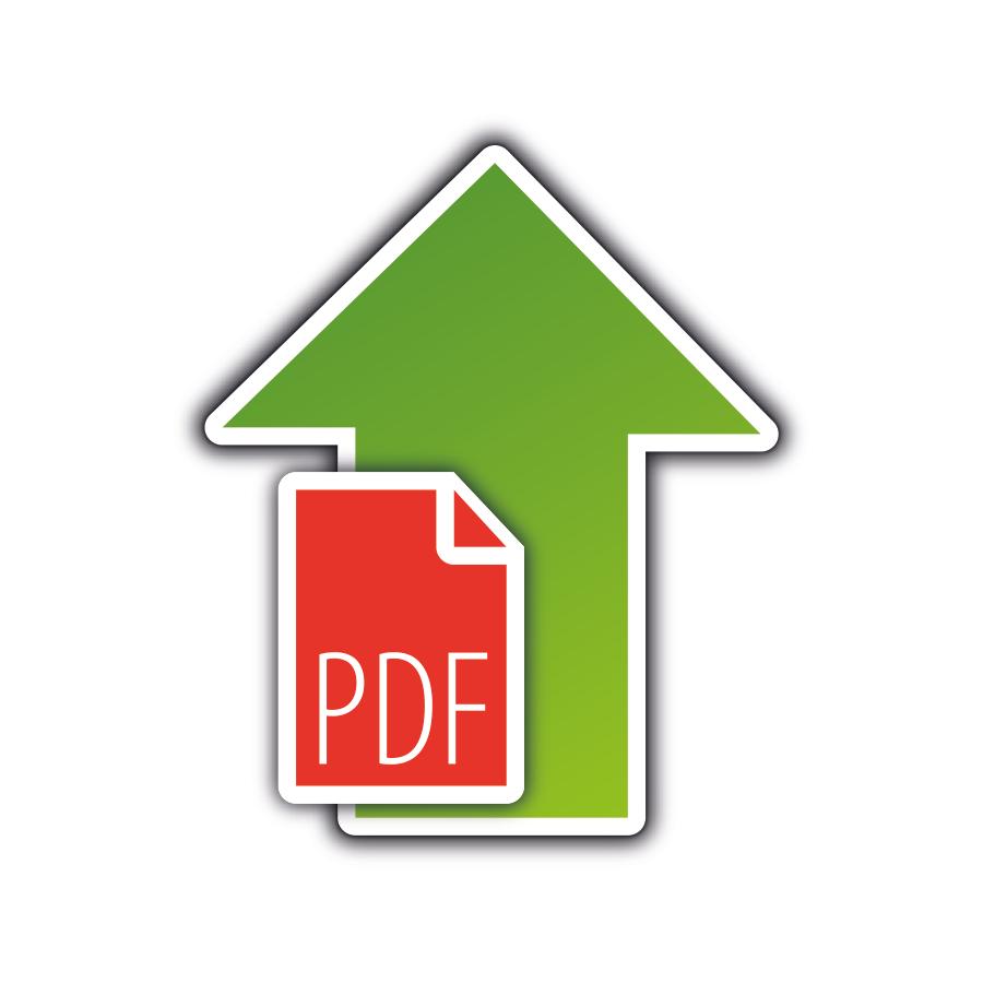 Multiloft Visitenkarten mit Farbkern Datei upload