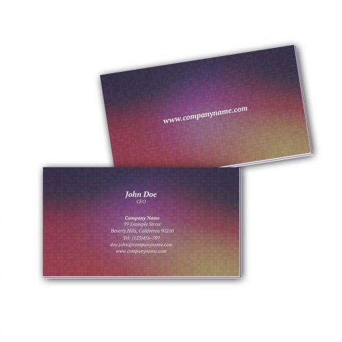 Visitenkarten mit Farbkern - Party