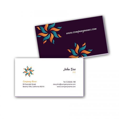 Visitenkarten mit Farbkern - Solar