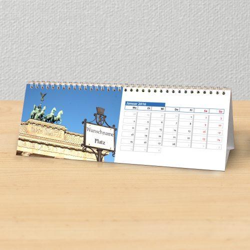 Tischkalender Stadt