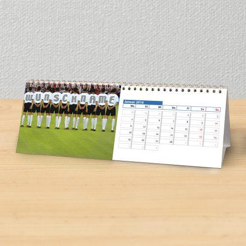 Tischkalender für Fussballfans