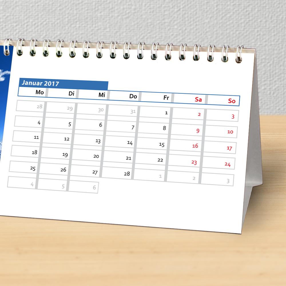 Tischkalender für Herren
