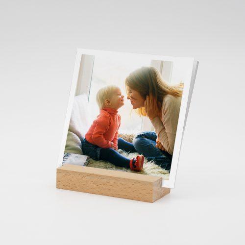 Fotokalender mit Holzfuß