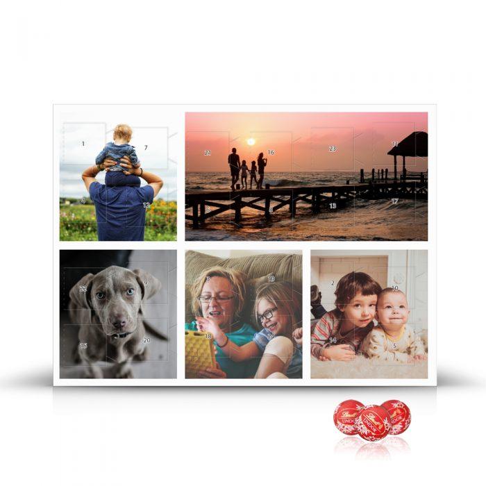 Foto Adventskalender – Collage - Bild 1